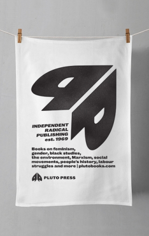 Pluto Press Tea Towel